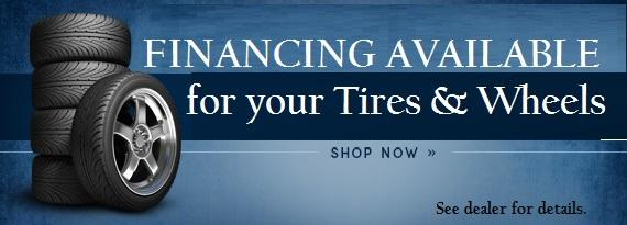 Financing for Tires and Wheels in Stonewall, MB